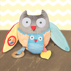 Skip Hop Hug & Hide Activity Owl