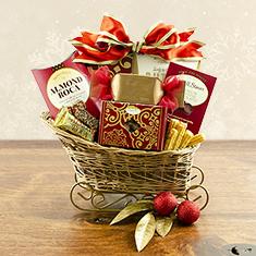 Sleigh Bells Gourmet Gift Basket