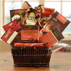 Snacks & Sweets Gourmet Gift Basket