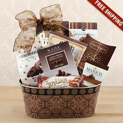 Snacks & Sweets Gourmet Gift Basket