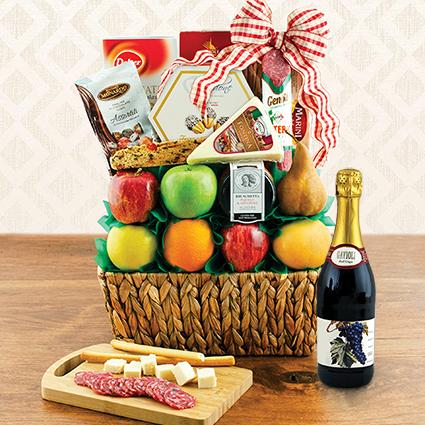 Sparkling grape juice gift baskets at winebasket sorry for your loss sympathy gift basket negle Images