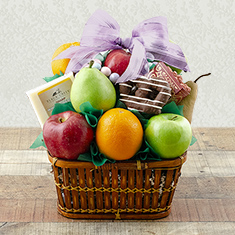 Springtime Bounty Fruit Gift Basket