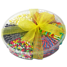 Nursery School Candy Platter - Pareve