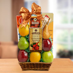 Super Sugar Free & Fresh Fruit Gift Basket