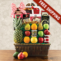 Sutton Place Fruit Gift Basket