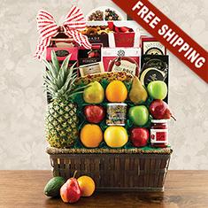 Sutton Place Fruit Gift Basket
