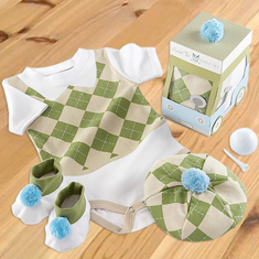 Sweet Tee 3-Piece Golf Layette Set