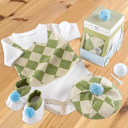 Sweet Tee 3-Piece Golf Layette Set