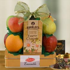 Tea & Sympathy Fruit Gift Basket