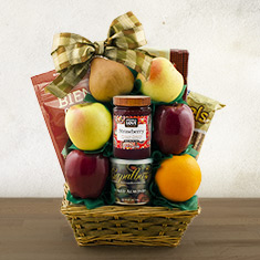 Tel Aviv Fruit & Kosher Food Gift Basket