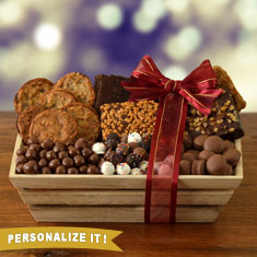 Tempting Treats Gourmet Gift Basket