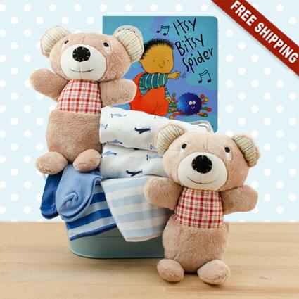 Terrific Twins Gift Basket