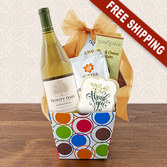 Thank You So Much White Wine Gift Box
