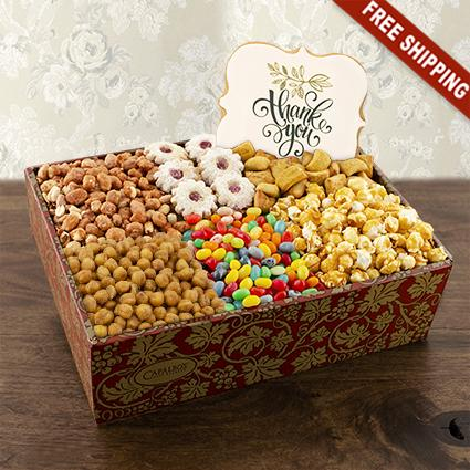 Thanks a Million Gourmet Goodies Gift Box
