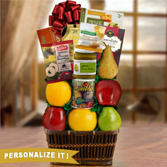 Thoughts & Prayers Kosher Shiva Fruit Gift Basket
