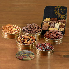 Super 6-Tin Snack Extravaganza Gift Set