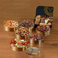 7th Heaven Snack Tin Festival Gift Set