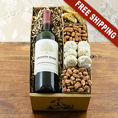 Trinity Oaks Terrific Red Wine Gift Box