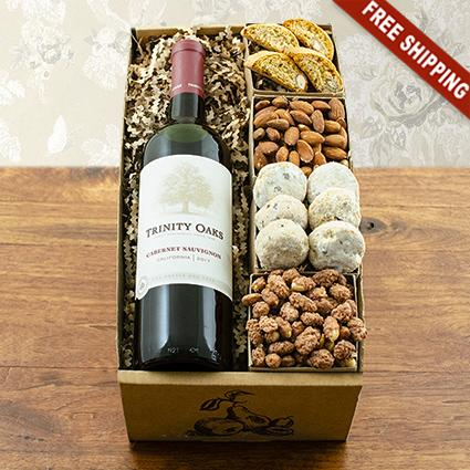 Trinity Oaks Terrific Red Wine Gift Box