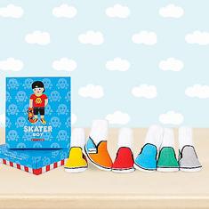 Trumpette Skater Boy Baby Socks Gift Set
