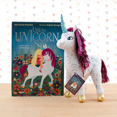 Uni the Unicorn Doll & Hardcover Book