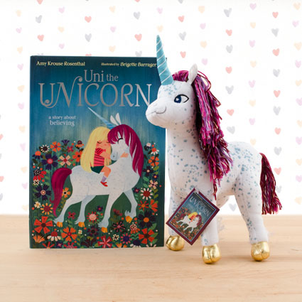 Uni the Unicorn Doll & Hardcover Book
