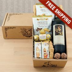 Vino Italiano Red Wine Gift Box