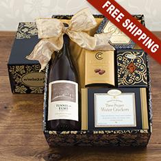 White Wine & Snax Gift Box