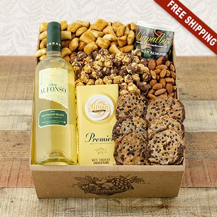White Wine Party Gift Box