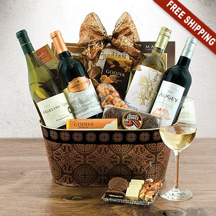 Wine Lover's Collection Gift Basket