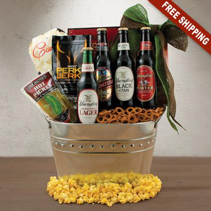 Yuengling Beer Basket