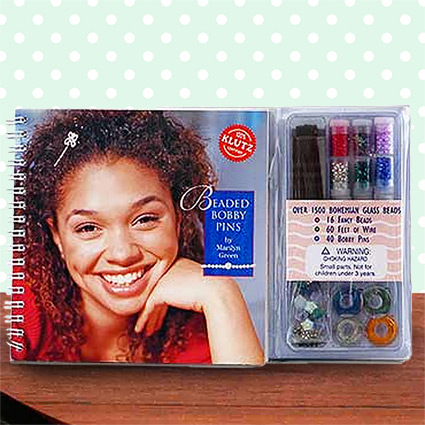 Beaded Bobby Pins Book by Klutz