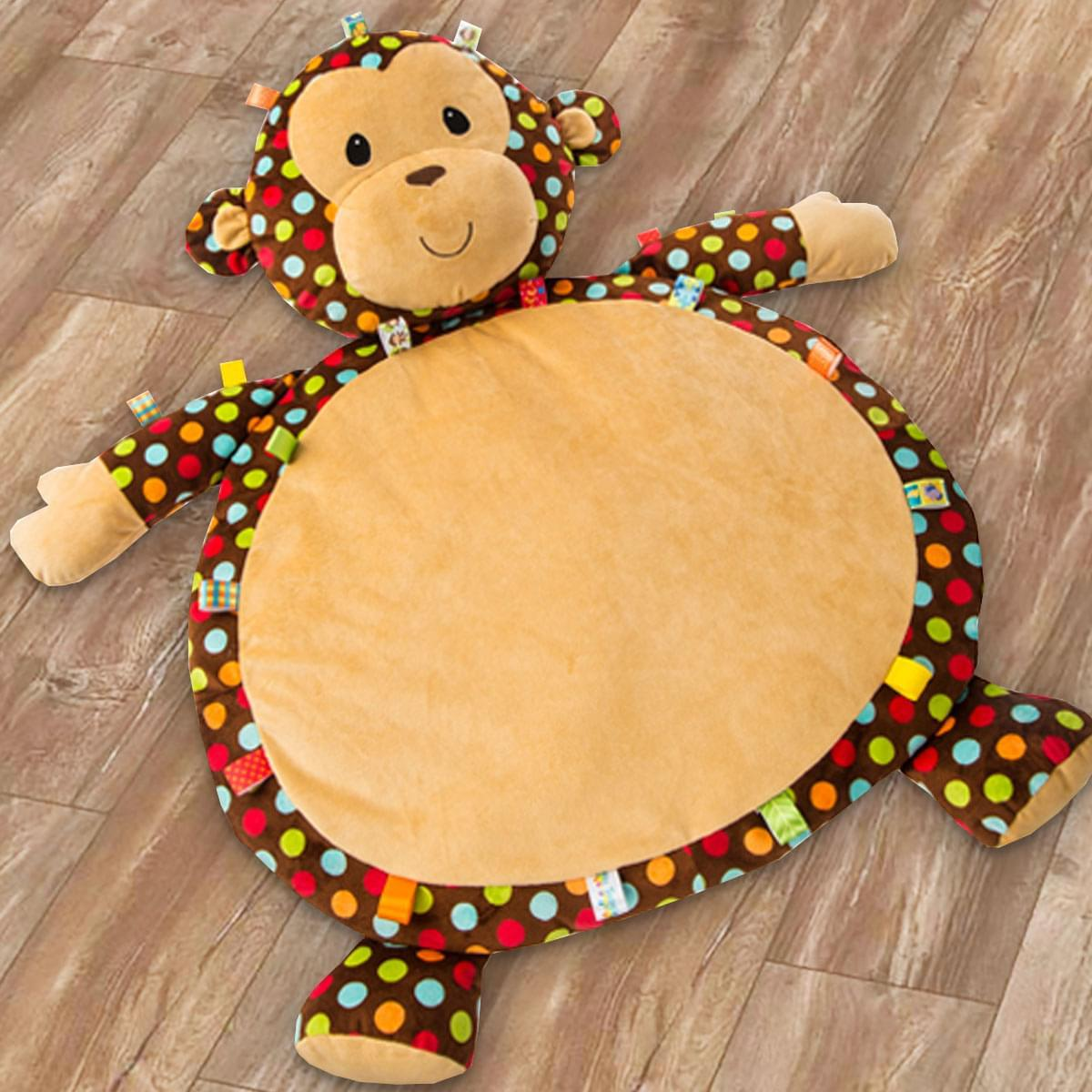 Bestever Taggies Dazzle Dots Monkey Baby Mat