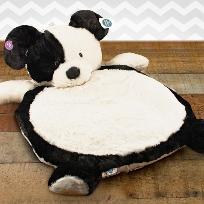 Bestever Black and White Puppy Baby Mat