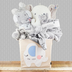 Trunkful Of Elephants Gift Basket