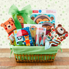 Beary Fun Baby Basket