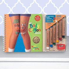 Body Crayon Book by Klutz